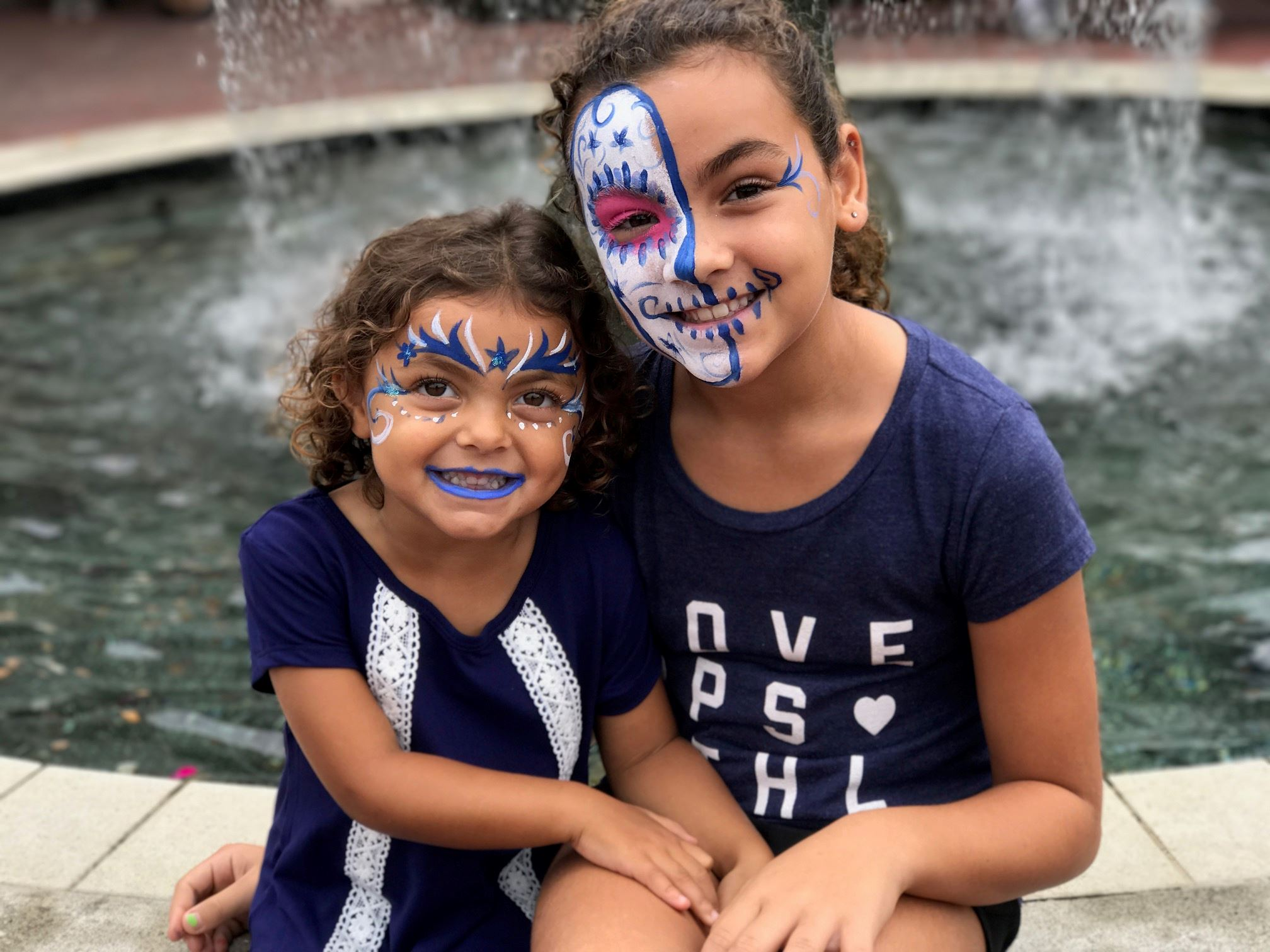 Face Painting Sisters Fall Festival