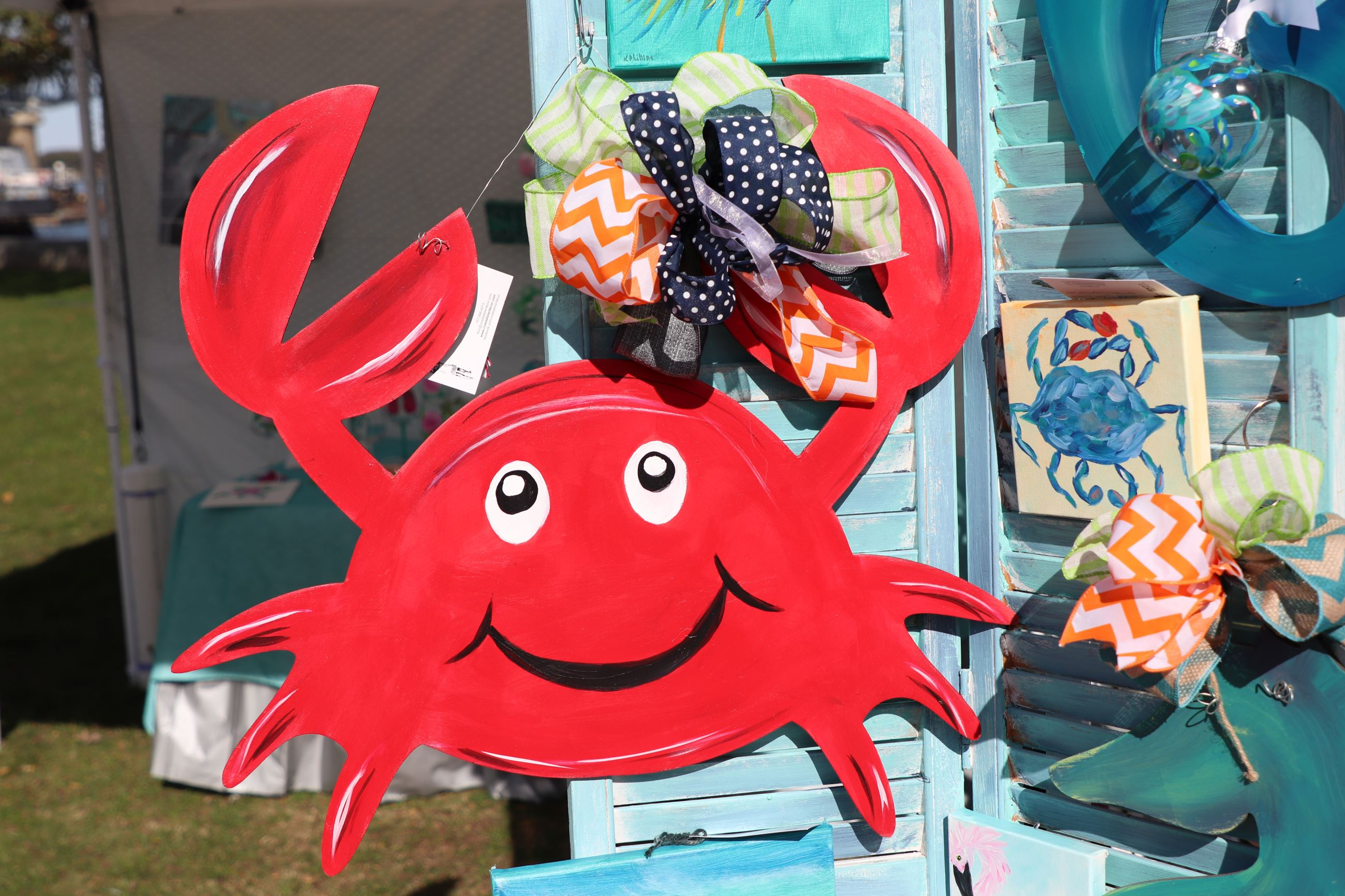 Crab Art Market Days