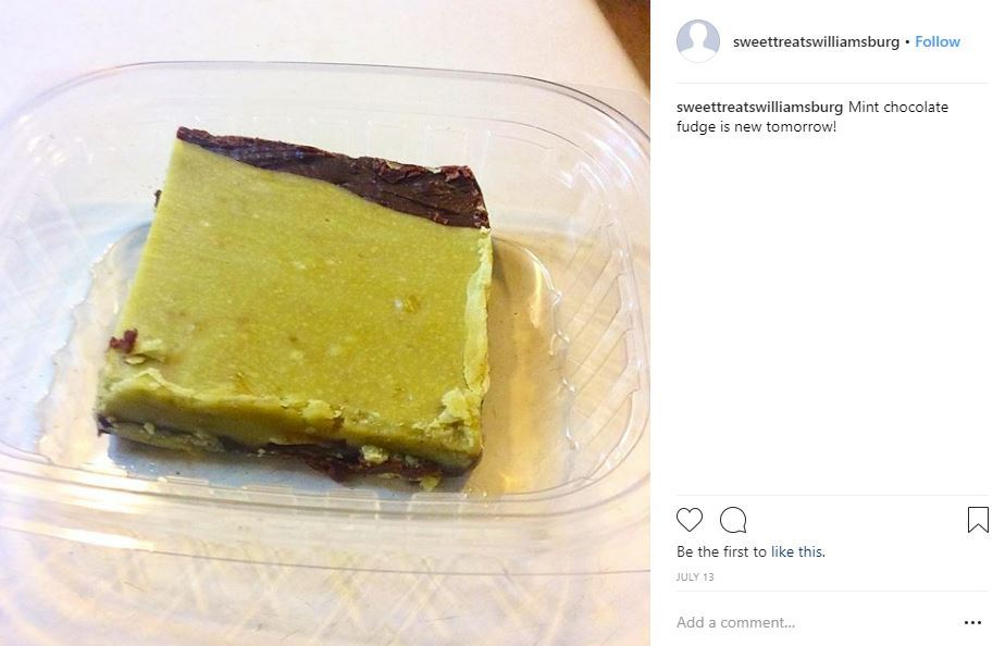 Sweet Treats Fudge Instagram