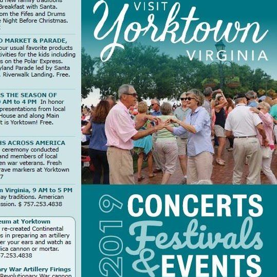 Concerts Festivals and Events 2019