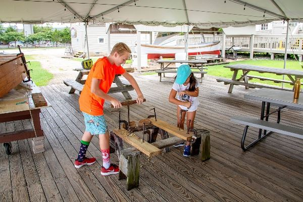 Boat Building Camp 3