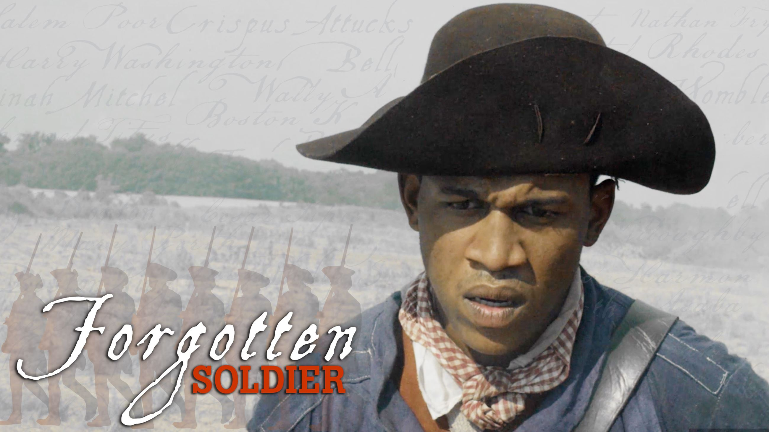 Forgotten Soldier Logo for American Revolution Museum at Yorktown's Special Exhibit