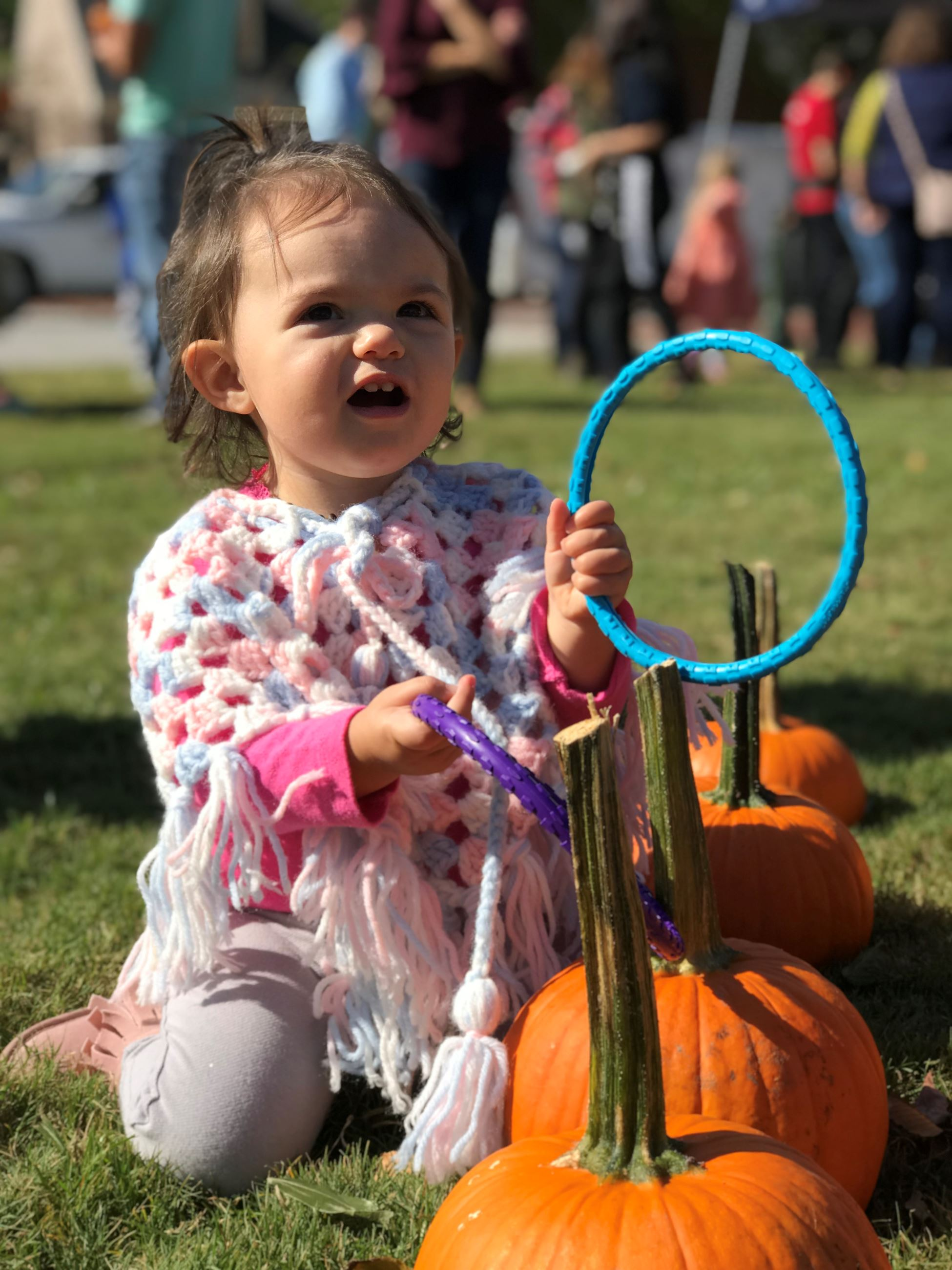 Pumpkin Ring Toss Fall Festival