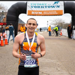 Victory at Yorktown 10K Finish Line