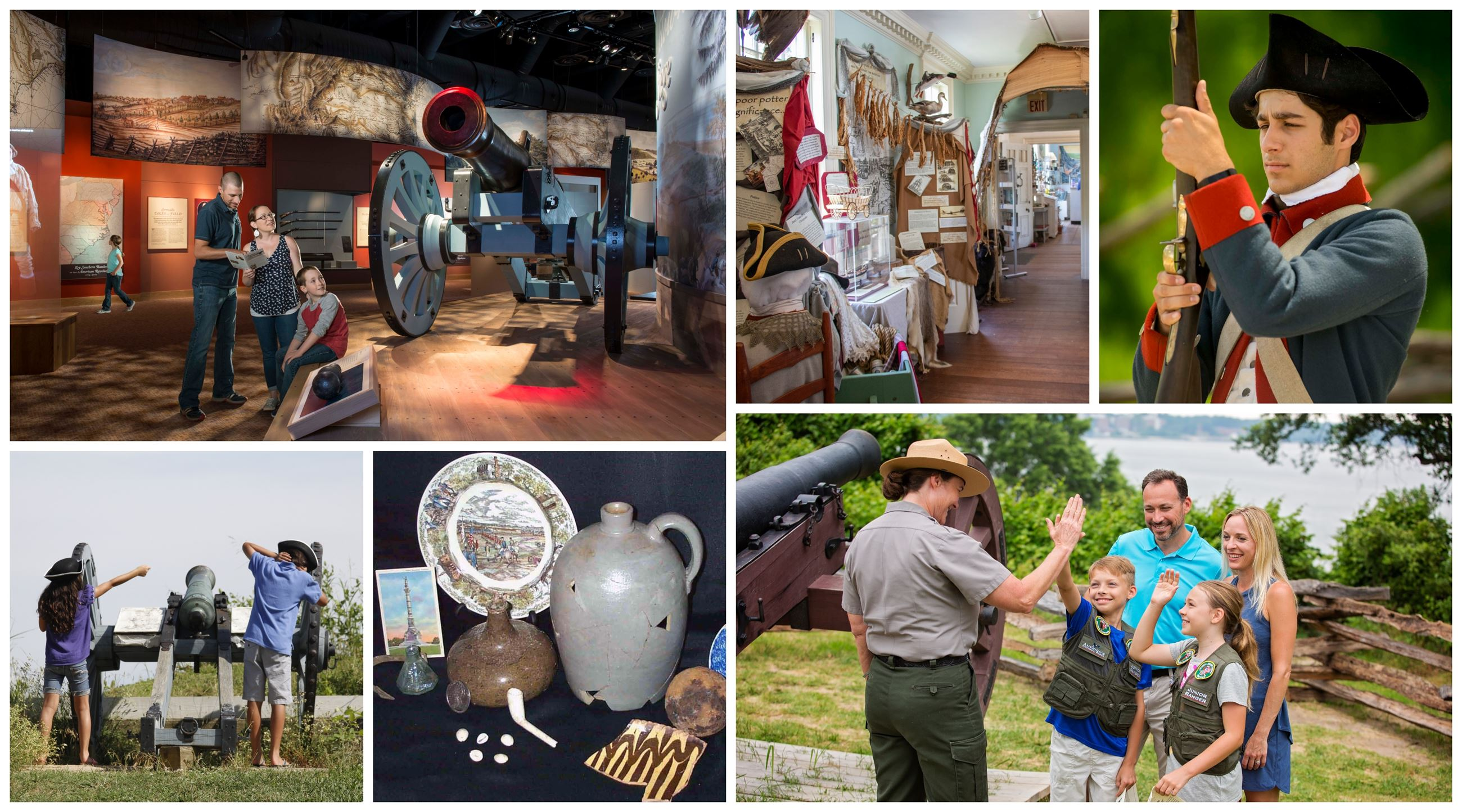 Historical Attractions and Museums in Yorktown