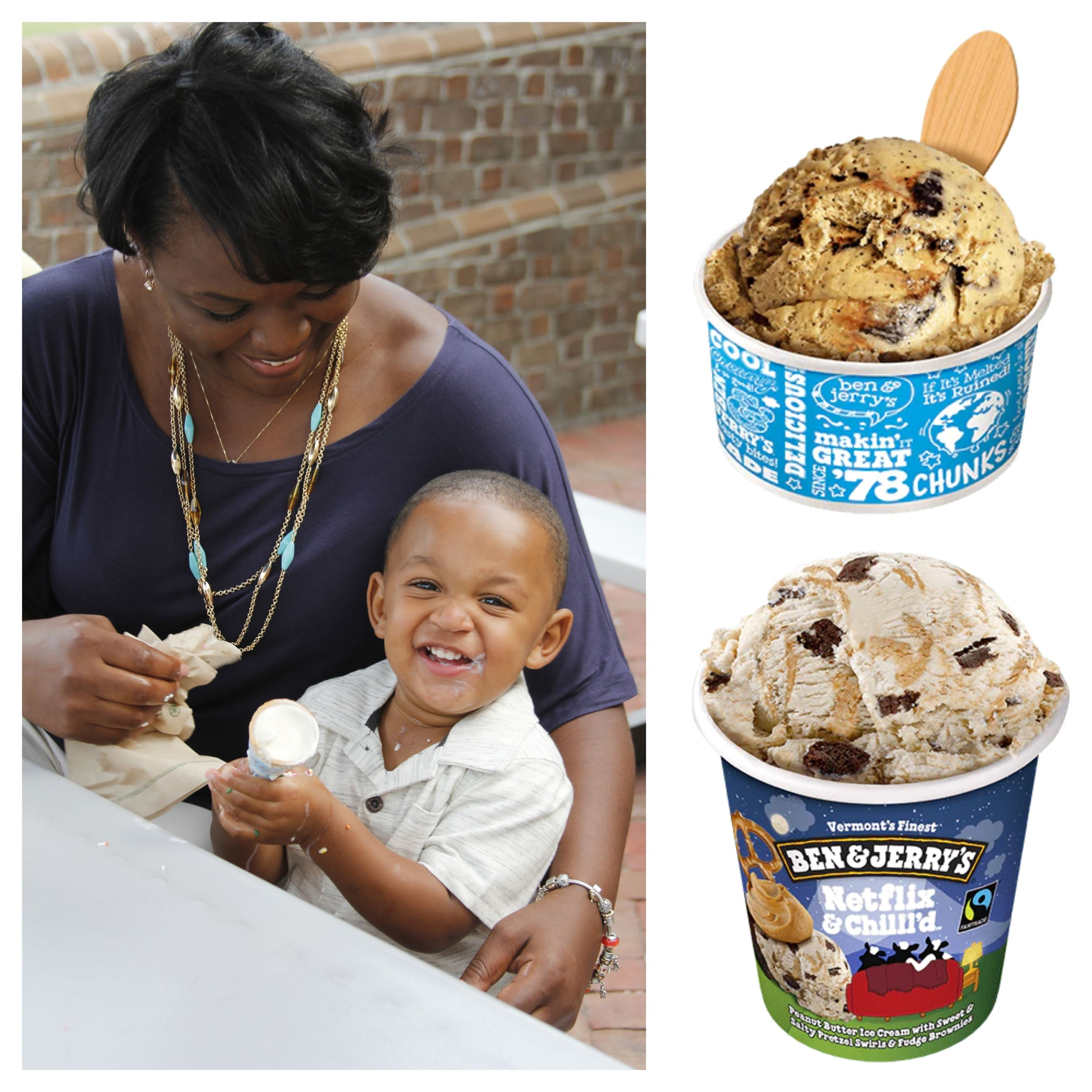 Ben and Jerrys new ice cream flavors
