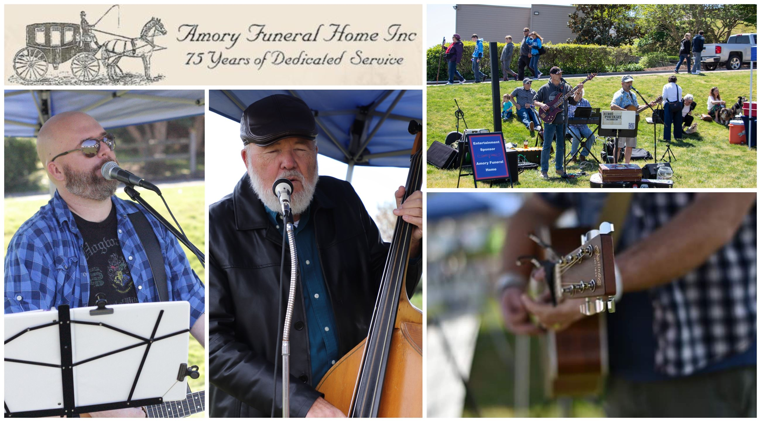 Amory Funeral Home Market Days Entertainment Sponsor