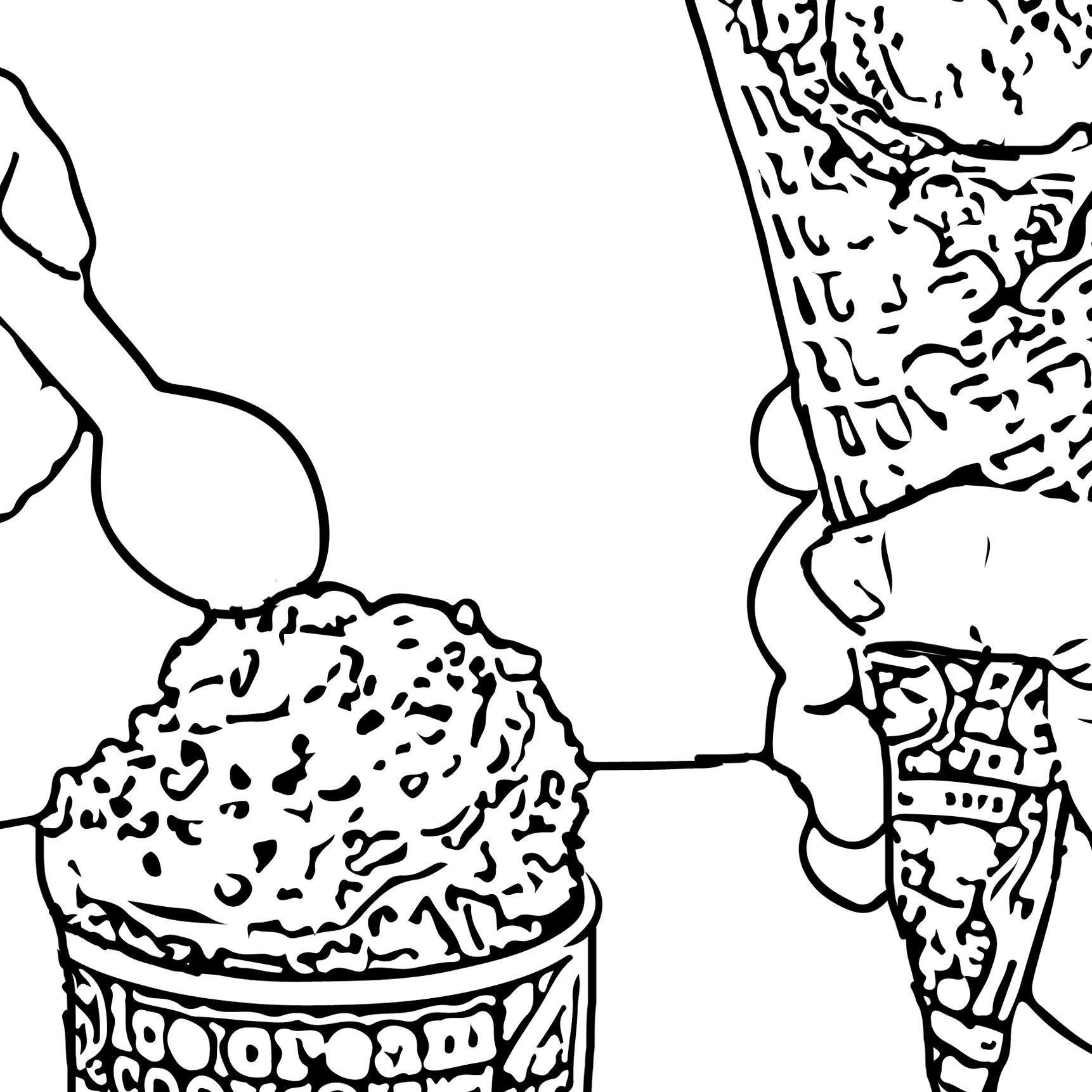 Coloring Pages Ben and Jerry