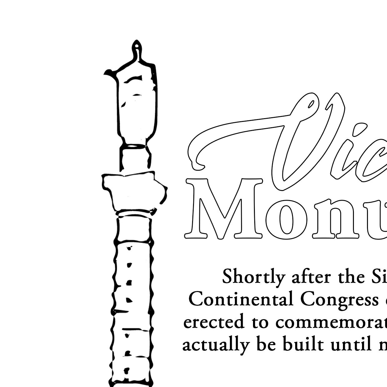 Coloring Pages Victory Monument
