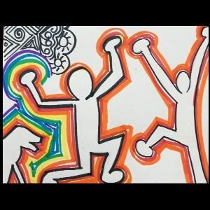 Summer Art Camp - Keith Haring Style
