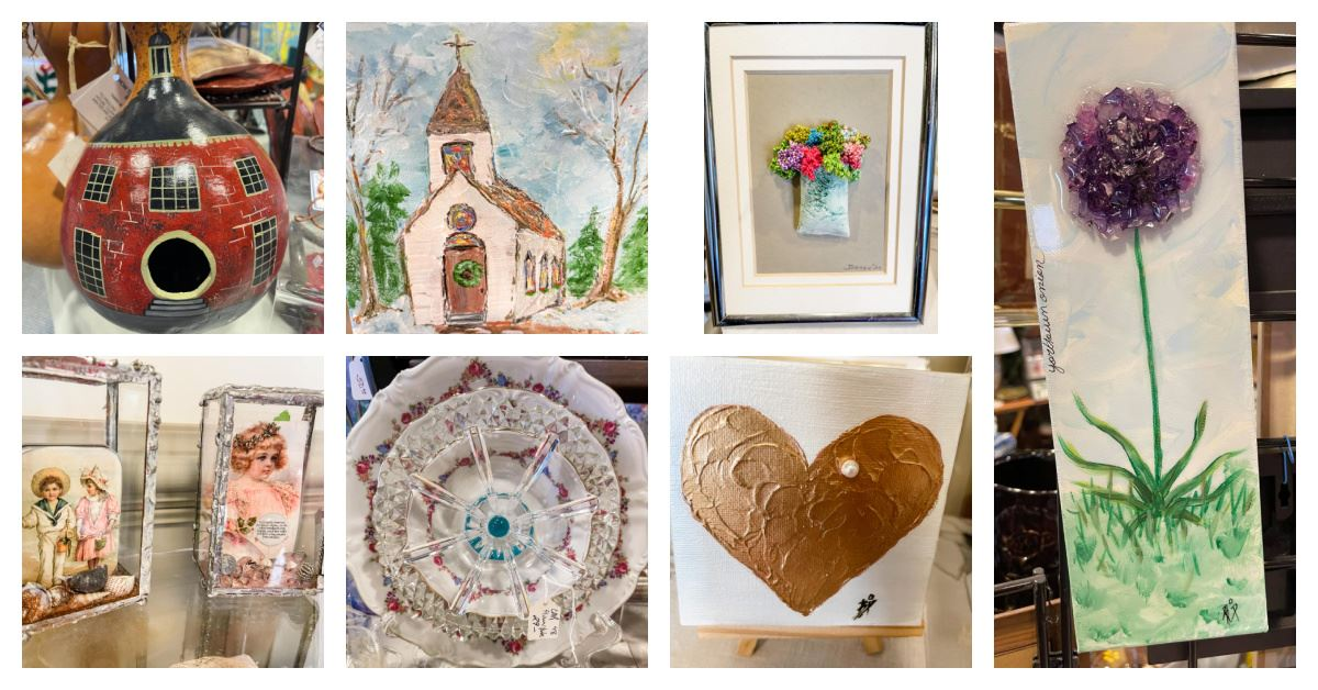 Gallery at York Hall Valentine's Day Collage