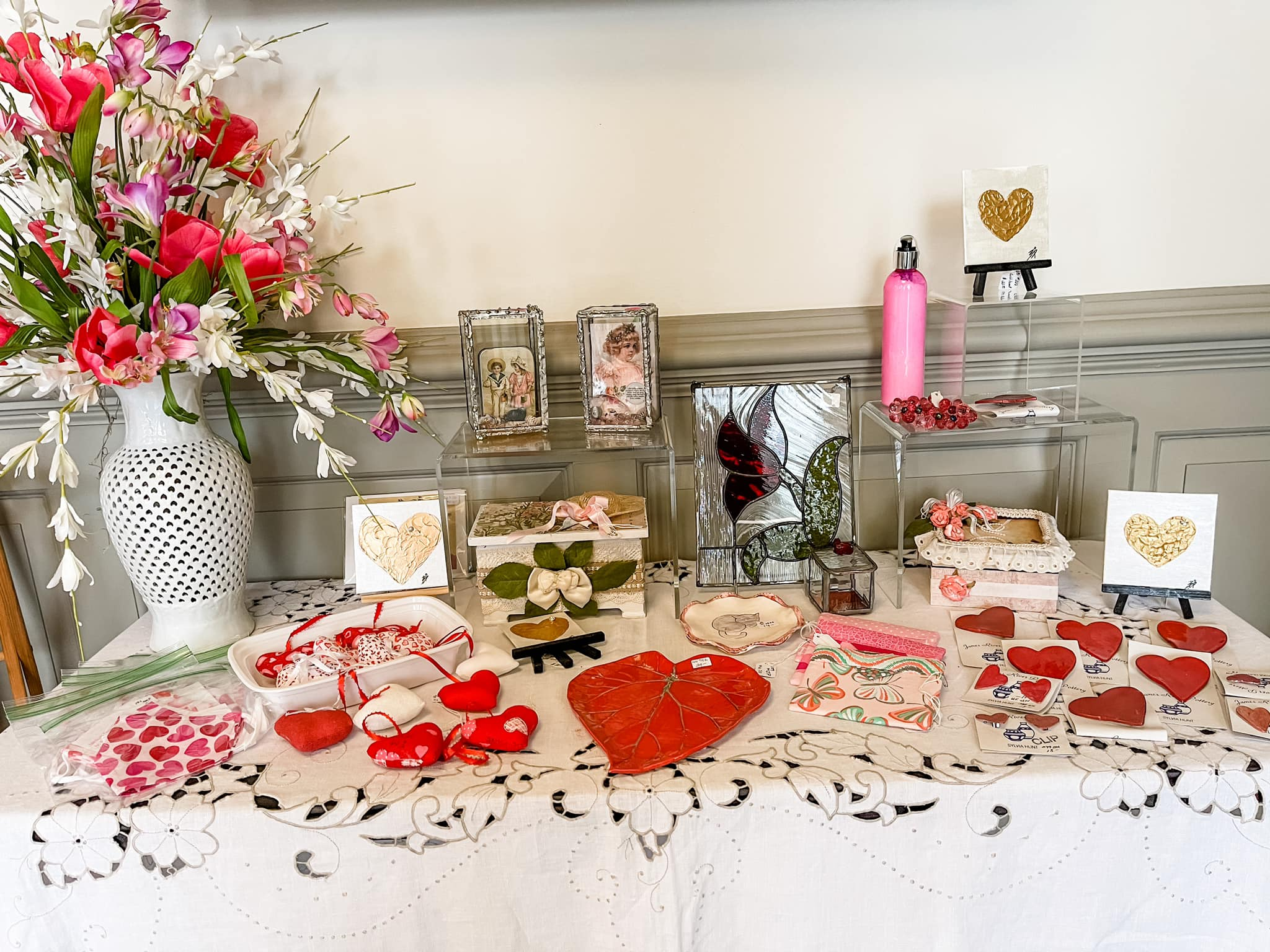 Gallery at York Hall Valentine's Day Display