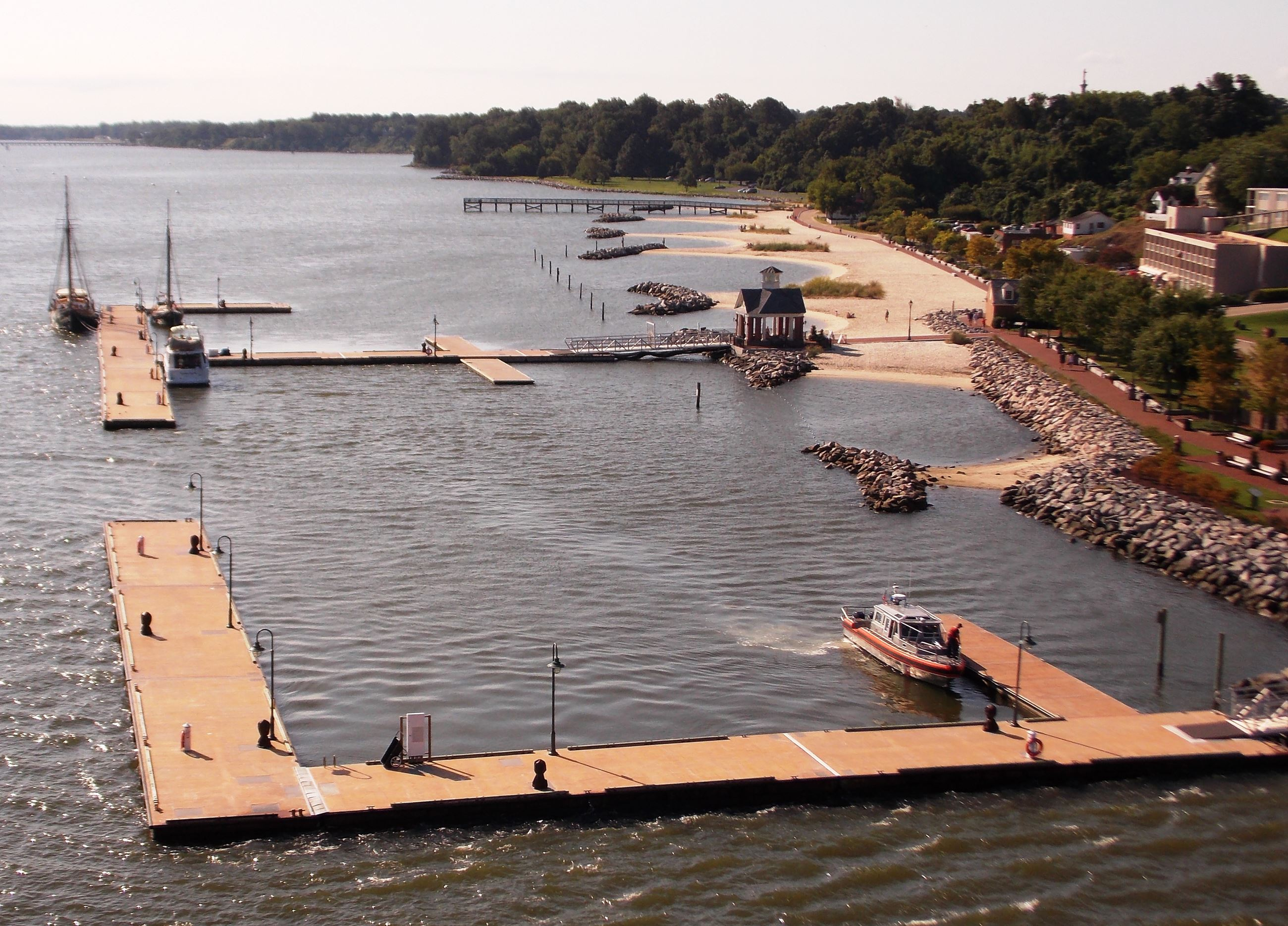 Yorktown Beach and Docks