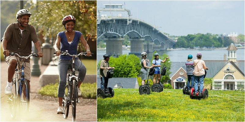 Patriot Tours Bicycle and Segway Tours
