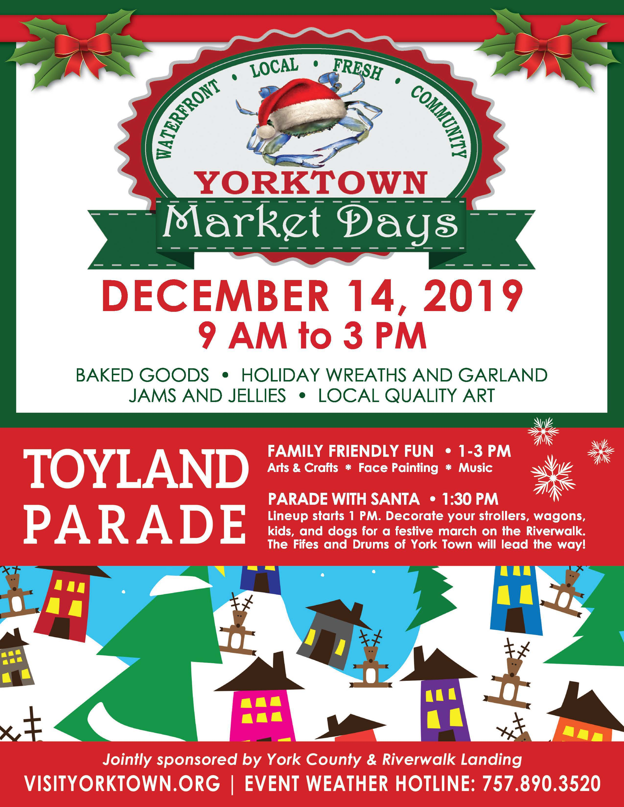 Toyland Market and Parade Opens in new window